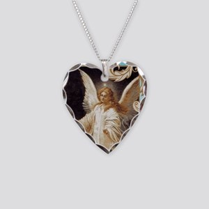 Angel of God (Day) Necklace Heart Charm