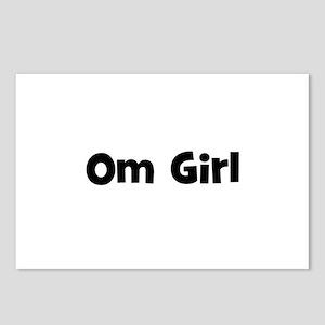 Om Girl Postcards (Package of 8)