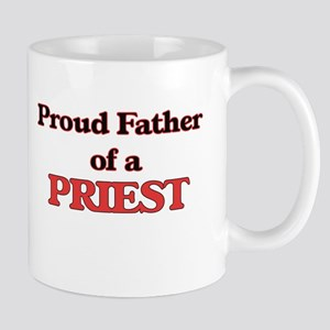 Proud Father of a Priest Mugs