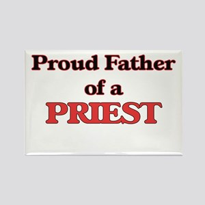 Proud Father of a Priest Magnets