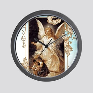 Angel of God (Day) Wall Clock