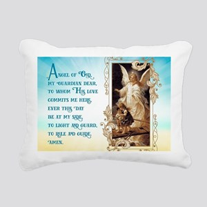 Angel of God (Day) Rectangular Canvas Pillow