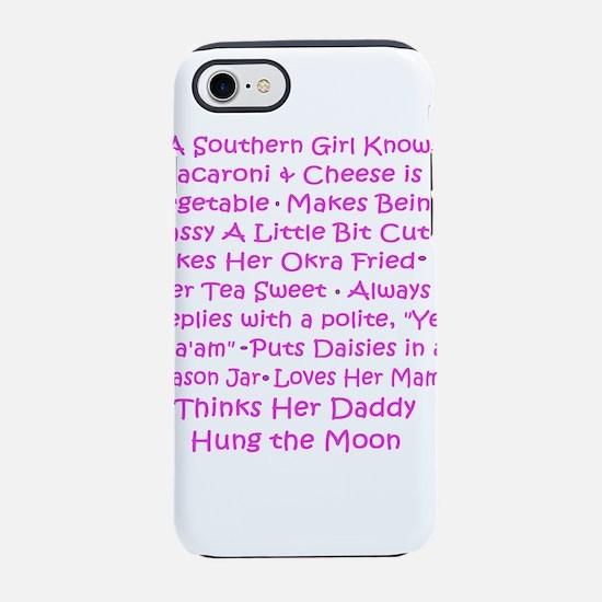 southern girl iPhone 8/7 Tough Case