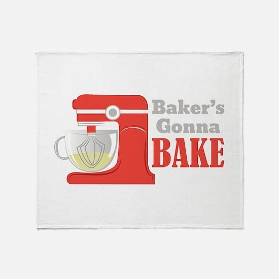 Gonna Bake Throw Blanket