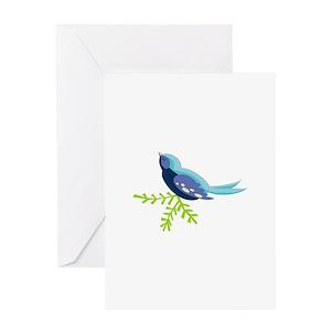 Bluebird of happiness greeting cards cafepress m4hsunfo