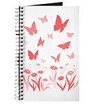 Pink Butterfly Art Journal Butterfly Art Notebook
