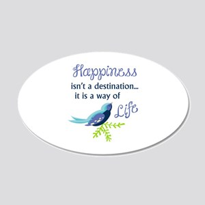 Happiness Is Wall Decal