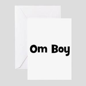 Om Boy Greeting Cards (Pk of 10)