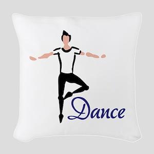 Dance Woven Throw Pillow