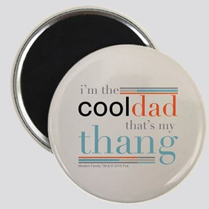 Modern Family Cool Dad Round Magnets