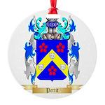 Pettit Round Ornament