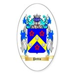 Pettis Sticker (Oval 10 pk)