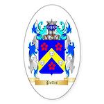 Pettis Sticker (Oval 50 pk)