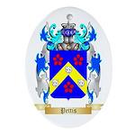 Pettis Oval Ornament