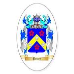 Pettey Sticker (Oval 50 pk)