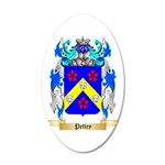Pettey 20x12 Oval Wall Decal