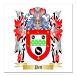 Pett Square Car Magnet 3