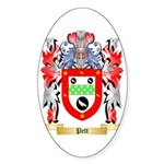 Pett Sticker (Oval 50 pk)