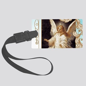 Angel of God (Day) Large Luggage Tag