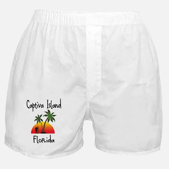 Captiva Florida Boxer Shorts