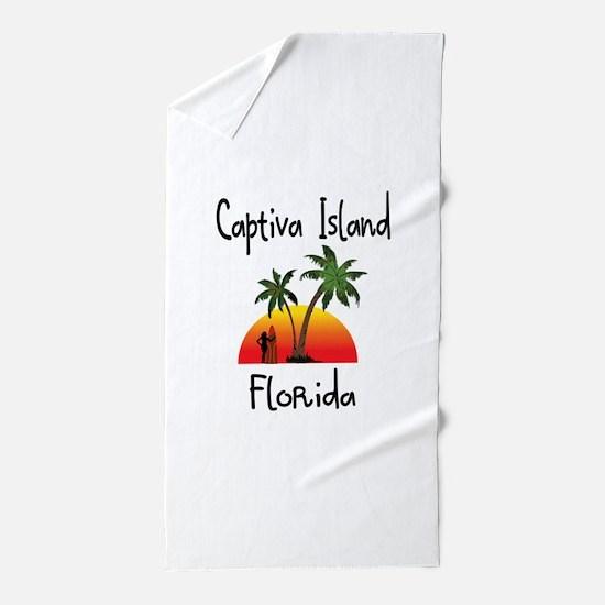Captiva Florida Beach Towel