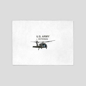 US Army Veteran 5'x7'Area Rug