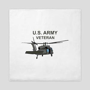 US Army Veteran Queen Duvet
