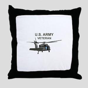 US Army Veteran Throw Pillow