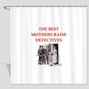 221b joke on gifts and t-shirts. Shower Curtain