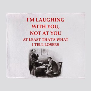 221b joke on gifts and t-shirts. Throw Blanket