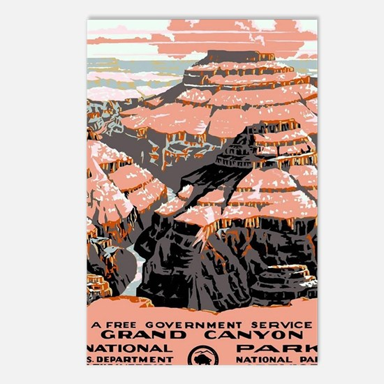 Cute National parks bryce canyons Postcards (Package of 8)