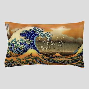 The Great Wave off Kanagawa Pillow Case