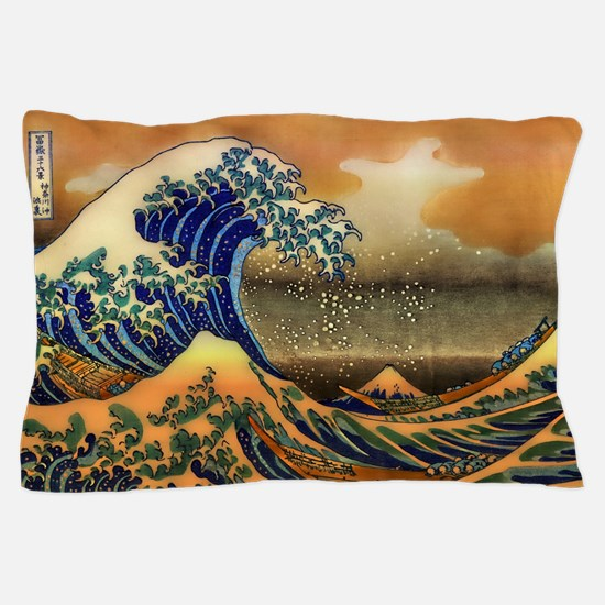The Great Wave off Kanagawa Pillow Case
