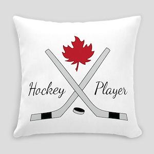 Hockey Player Everyday Pillow
