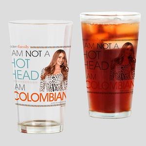 Modern Family Gloria Colombian Drinking Glass