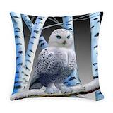 Wildlife Burlap Pillows