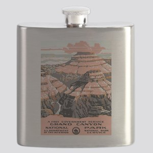 Vintage poster - Grand Canyon Flask