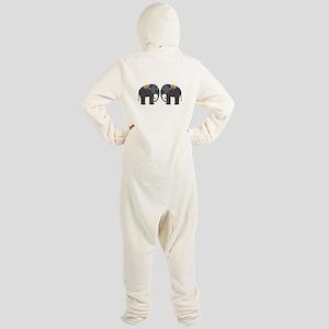 Indian Elephant Footed Pajamas