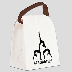 Acrobatics Canvas Lunch Bag
