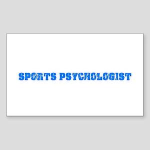 Sports Psychologist Blue Bold Design Sticker
