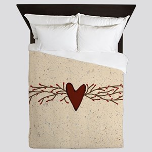 Pip Berry Heart Swag Queen Duvet
