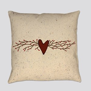 Pip Berry Heart Swag Everyday Pillow