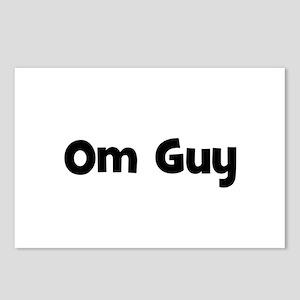 Om Guy Postcards (Package of 8)