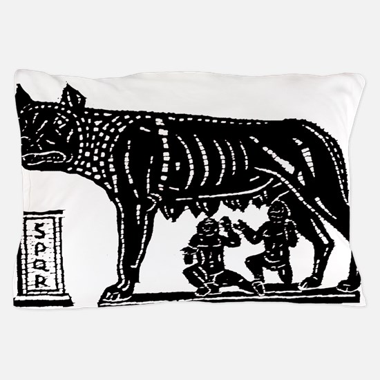Romulus and Remus Pillow Case