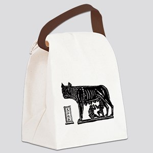 Romulus and Remus Canvas Lunch Bag