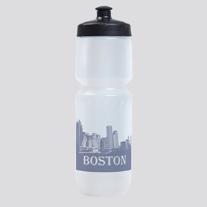 Boston From Fort Point Channel Sports Bottle