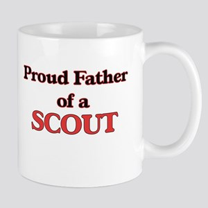 Proud Father of a Scout Mugs