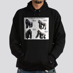 Gorillas of the World Hoodie (dark)