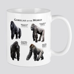 Gorillas of the World Mug