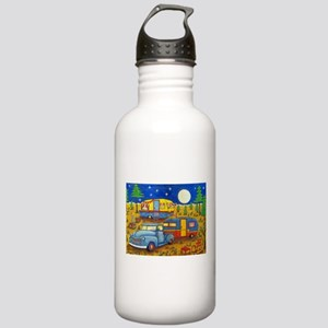 Glamper Camper Vintage Truck Water Bottle